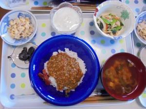 3月1日お昼ご飯